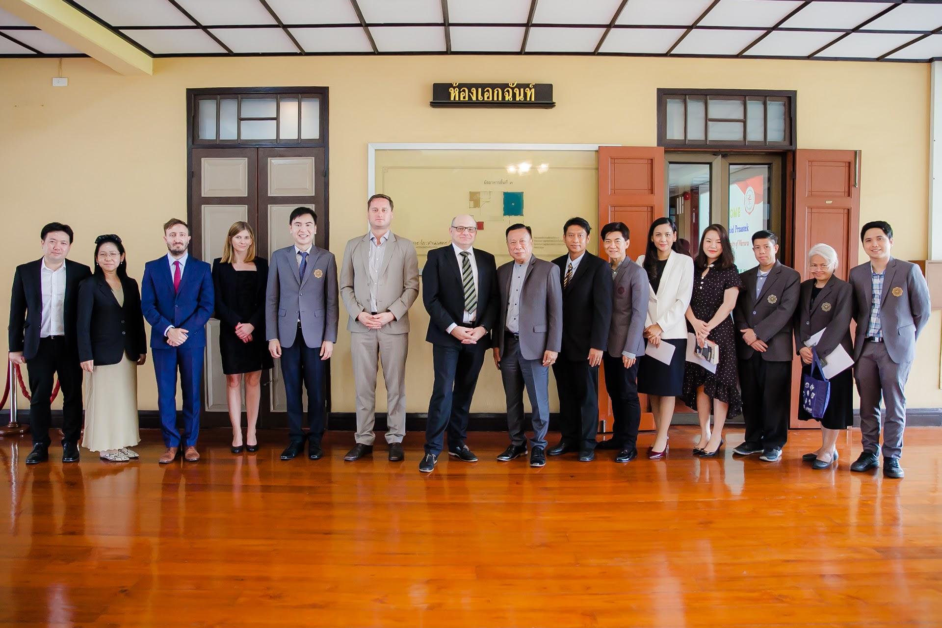 เจรจาความร่วมมือทางวิชาการ University of Warsaw, Poland